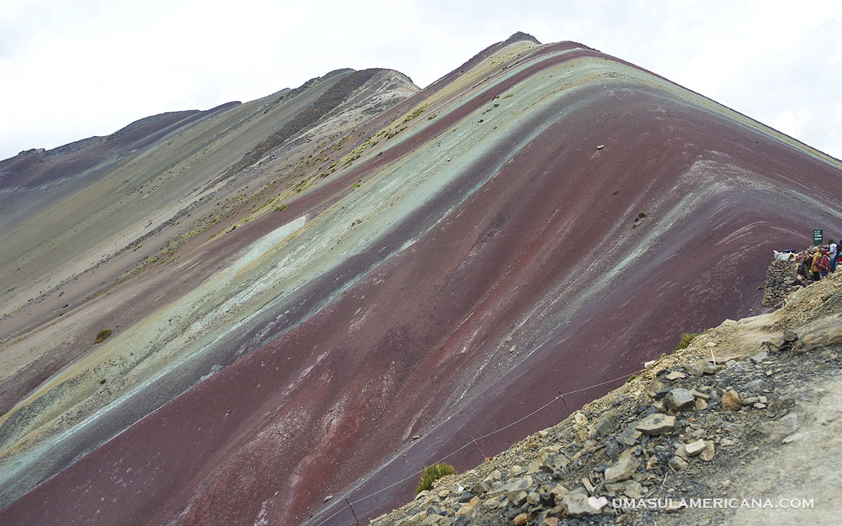 Montanha Colorida do Peru (Vinicunca ou Rainbow Montain)