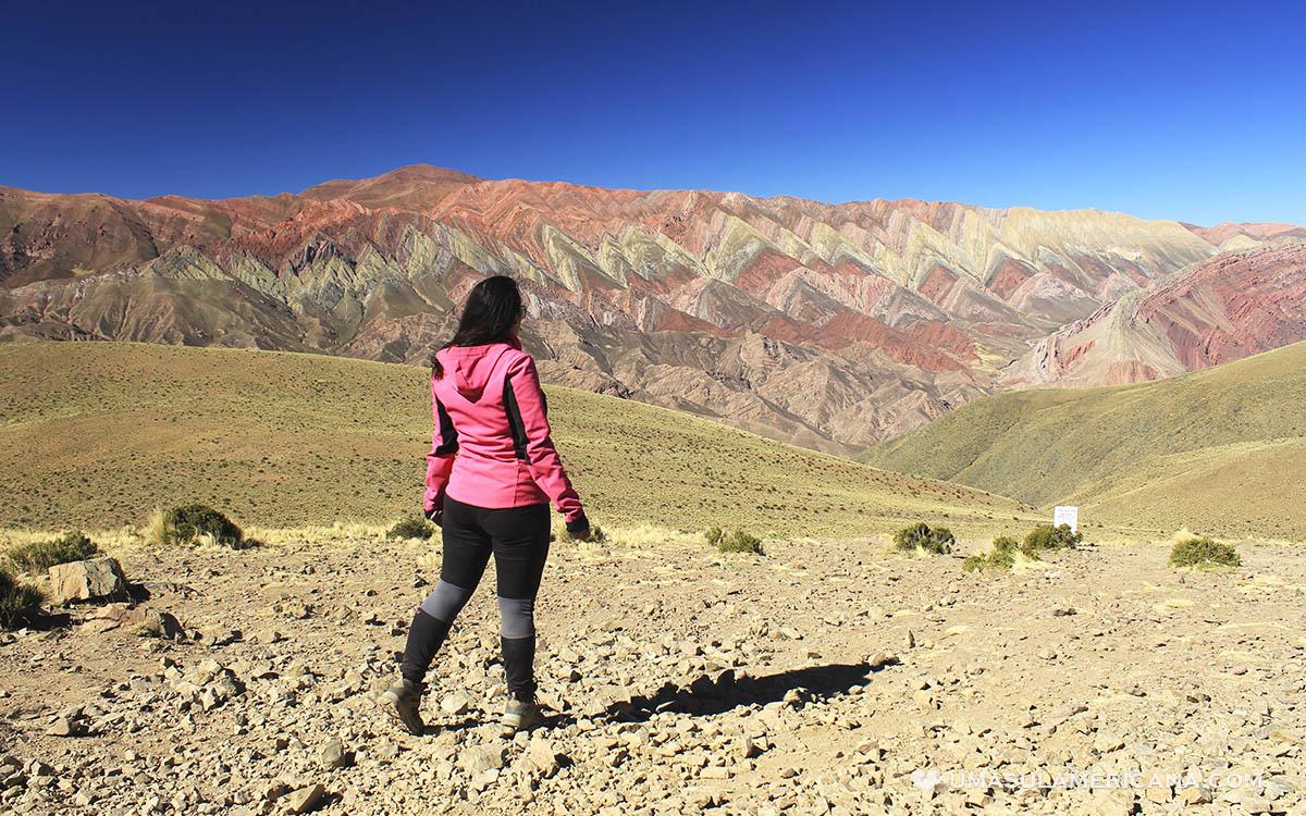 Montanha Colorida em Humahuaca, em Jujuy